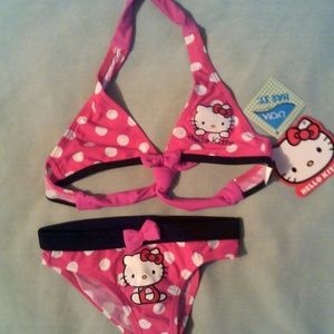 Hello Kitty 2pc swimsuit